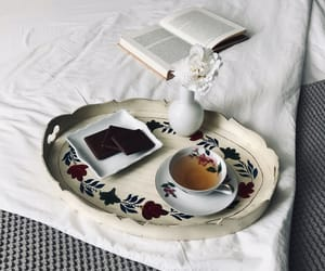 autumn, flatlay, and bed image