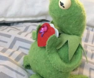 heart, kermit, and memes image