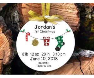 christmas gift, tree ornament, and christmas ornament image