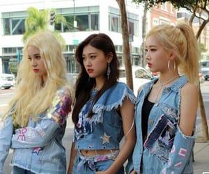 fashion, girl group, and kpop image