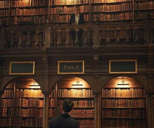 library, matthew goode, and teresa palmer image