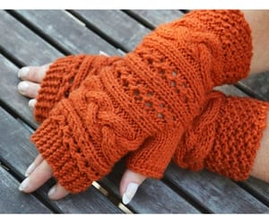 etsy, christmas gift, and fingerless gloves image