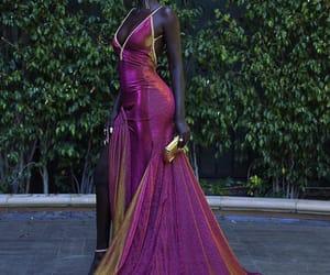 dress, fashion, and emmys image
