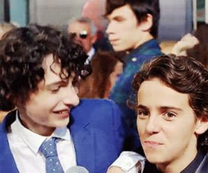 funny, finn wolfhard, and jack grazer image