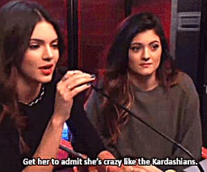 gif, kendall & kylie jenner, and the kardashians image