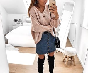 fashion, goals, and high boots image