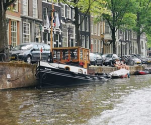 amsterdam, boat, and life image