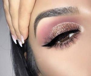 makeup, make, and nails image