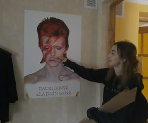 arrow, david bowie, and mustache image
