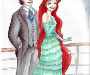 ariel, couple, and princesse image