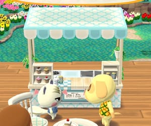 animal crossing, shop, and cake image
