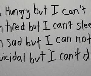 hungry, sad, and tired image