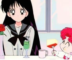 90's, chibi, and sailor moon image