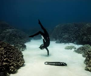 diver, diving, and free diving image