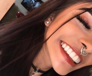 smile, girl, and choker image