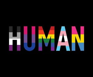 human, pride, and love image