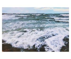 ahhh, mediterranean, and waves image