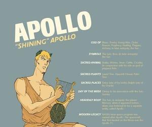 apollo, god, and greek image