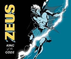 Zeus, god, and greek image