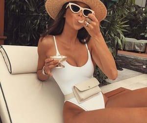 bikini, travel, and summer vibes image