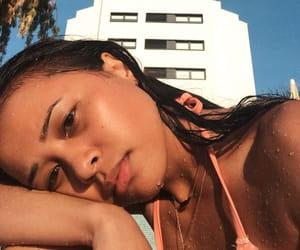 bikini, chilling, and girl image