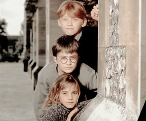 2001, daniel radcliffe, and emma watson image
