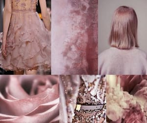 beautiful, dusty pink, and pink image