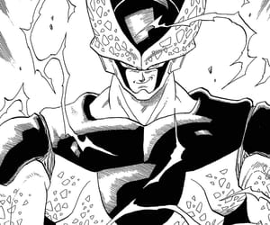 cell, manga, and dbz image