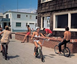 bike, vintage, and old image