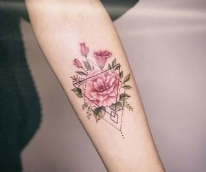 flower, tattoo, and tumblr image
