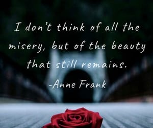 anne frank, beautiful, and beauty image