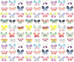art, beautiful, and butterflies image
