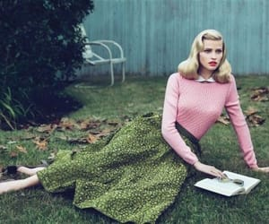 1950s, fashion, and model image