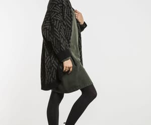 autumn, cardigan, and boots image