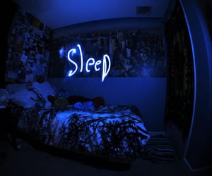 sleep, blue, and light image