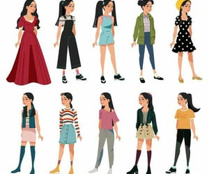 lara jean and outfit image