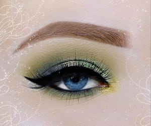 eye, eyebrows, and eyes image