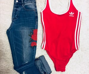 adidas, bodysuit, and casual image