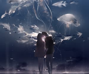 art, beautiful, and anime couple image