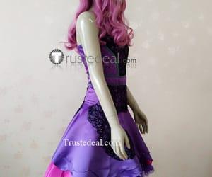 disney cosplay costume, cotillion purple dress, and descendants 2 mal image