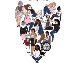 woman, feminist, and feminism image