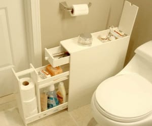 bathroom, house, and goals image
