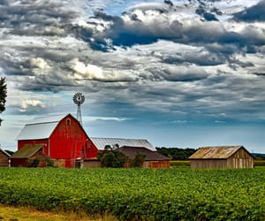 barn, country living, and farmhouse image