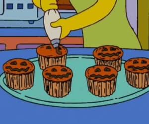 cupcake, gif, and marge image