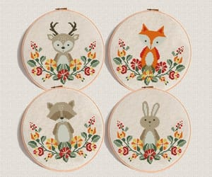 etsy, embroidery pattern, and hand embroidery image