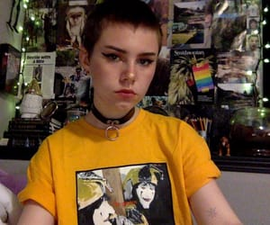 bi, goth girl, and girl image