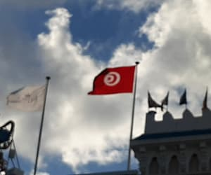 country, flag, and tunisia image