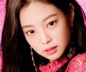 korean, jennie, and blackpink image