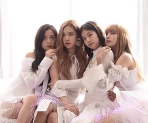 kpop, lisa, and jennie image
