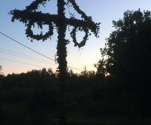 dark, midsummer, and night image